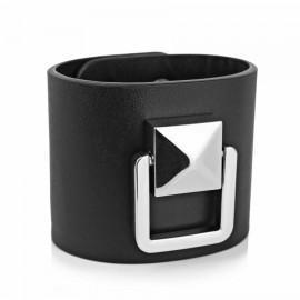Black Leather Bracelete